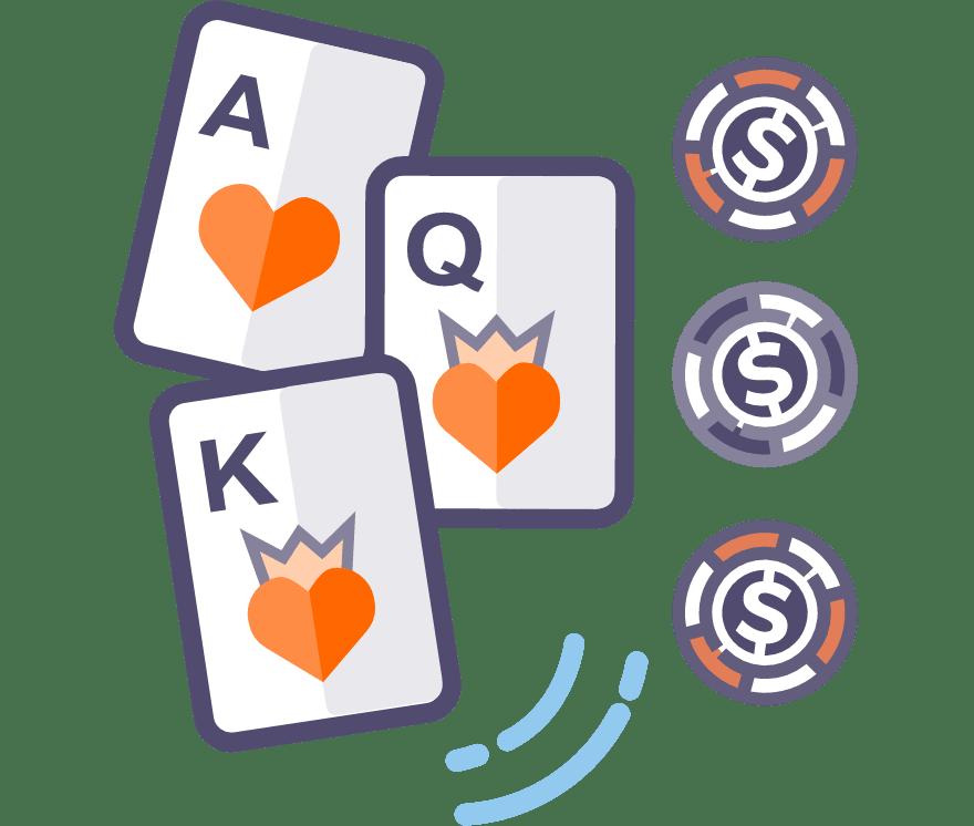 Los 53 mejores sitios de Casino de Póker de tres cartas en línea en Bolivia